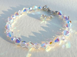 6mm crystal bracelet